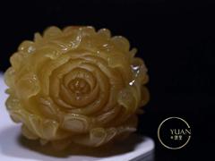 精品俄料牡丹,暴力鸡油黄颜色