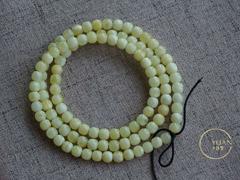 〓老形念珠〓手工精制,完美无暇,白花老形