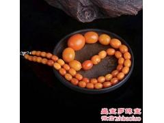 500年藏传老蜜蜡手串,西藏蜜蜡